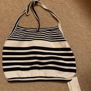 Backless halter top / AMerican apparel
